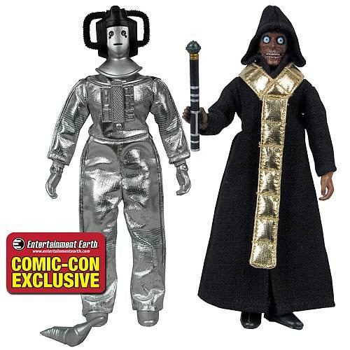 Doctor Who Cyberleader & The Master Action Figures (8 Inch)