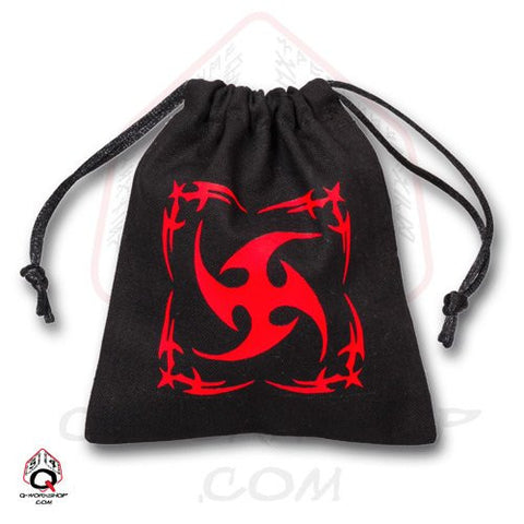 Black Tribal Dice Bag