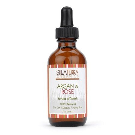 Shea Terra Organics Argan & Rose Serum of Youth 2 oz.