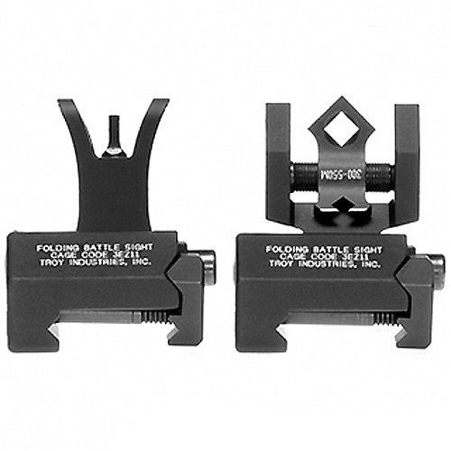 Troy Industries Micro Tritium M4 Style Front and DOA Rear Set Battle Sight (Color: Flat Dark Earth)