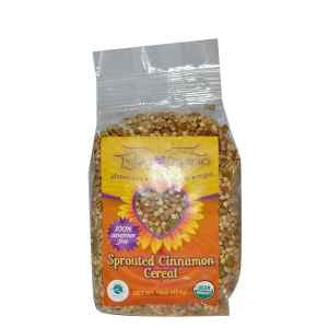 Lydia's Organics Cereal Sprouted Cinnamon -- 16 oz