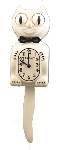 Kit Cat Kit Cat Cream Pendulum Wall Clock New Free Ship
