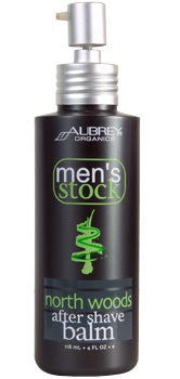 Men's Stock North Woods After Shave Balm 4oz-2 Pack