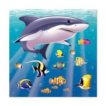 Under The Sea Beverage Napkins 16 Per Pack