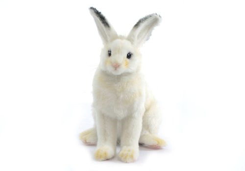 "Hansa Plush 6"" White Bunny"