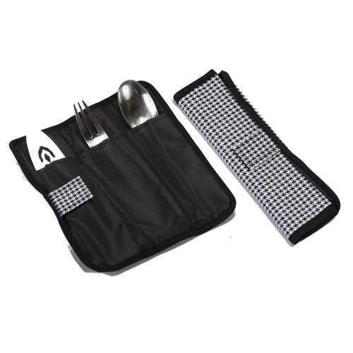 Entertainer Hot & Cold Food Carrier Colors: Houndstooth