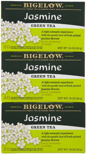 Bigelow Jasmine Green Tea 20.0 BG