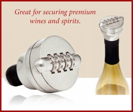 Combo Liquor/Wine Bottle Lock