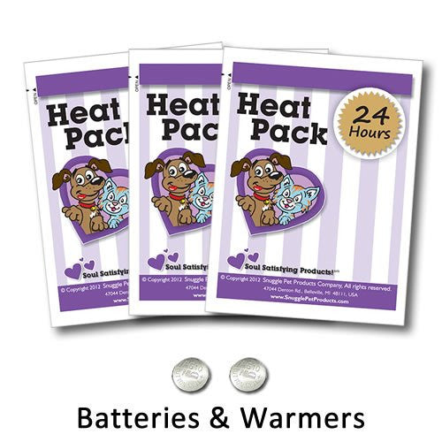 Snuggle Pet Products 3-Pack Heat Pack for Pets
