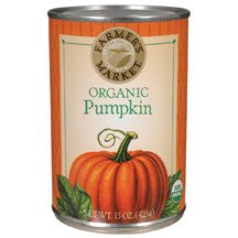 FARMERS MARKET Pumpkin Puree 12/15 OZ