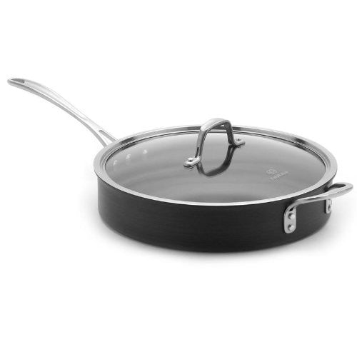 Calphalon 5-qt. Commercial Hard-Anodized Saute Pan.