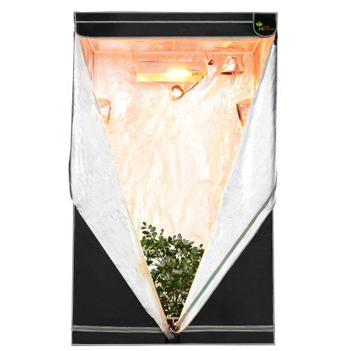 "Earth Worth 48""X48""X78"" Mylar Hydro Shanty Hydroponics Indoor Grow Tent - Earth Worth Quality at an Affordable Price!"