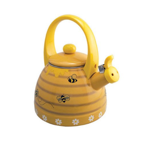 Honeycomb Whistling Tea Kettle