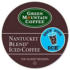 Green Mountain Coffee® Nantucket Blend® Iced Coffee K-Cup® Packs, 22/Bx