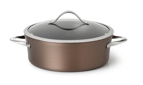 Calphalon Contemporary 5-Quart Bronze Anodized Edition Nonstick Dutch Oven with Cover
