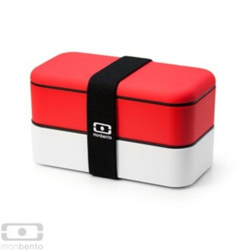 Monbento Original Bento Box - RED / WHITE