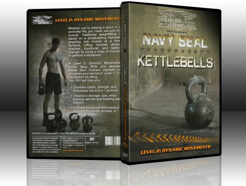 Navy SEAL Kettlebells Level 2: Dynamic Movements
