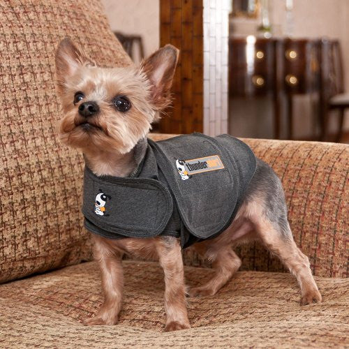 Thundershirt Dog Anxiety Treatment- (X-Small) - Heather Gray