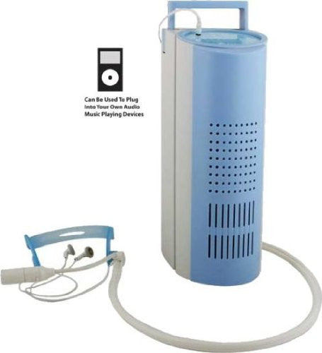 "Oxygen Bar with Turbo Air Flow (White/Blue) (12""H x 9""W x 5""D)"