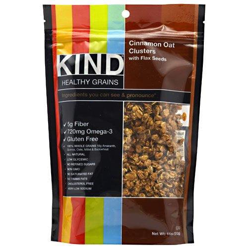 Kind Healthy Grains Cinnamon Oat Cluster/Flax 11oz