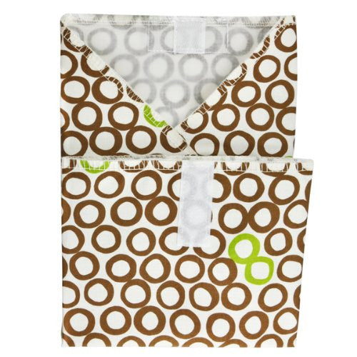 Planet Wise Sandwich and Snack Bags (Size: Sandwich Wrap Color: Lime Cocoa Bean)