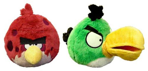 Angry Birds 5-Inch Talking Plush Case