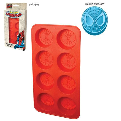 Spiderman Silicone Ice Cube Tray