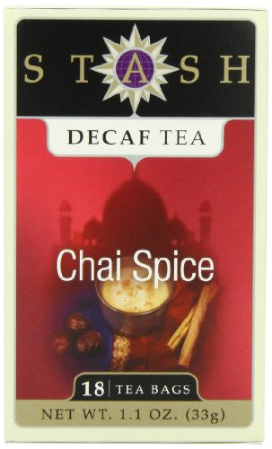 Chai Spice Tea, Decaf 18 Bags