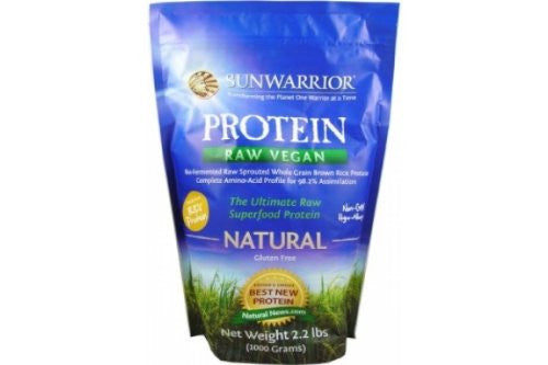 Sunwarrior Classic Protein Powder (Flavor: Natural Size: 2.2 Pound)