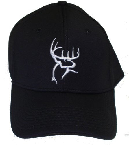 Buck Commander Flex Fitted Cap, Black