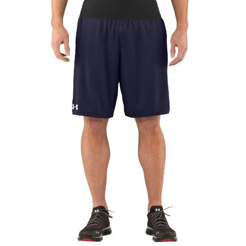Under Armour Men's UA Flex Shorts Bottoms by Under Armour (Color: Midnight Navy/white Size:)