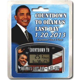 Countdown Timer Obamas Last Day 1292013