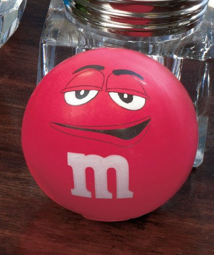 M&M's Stress Relief Ball - Red