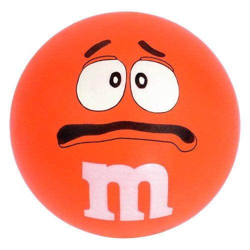 M&M's Stress Relief Ball - Orange