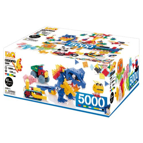 LaQ Basic 5000 Model Building Kit