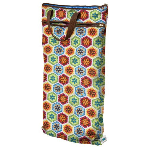 Planet Wise Hanging Wet/Dry Diaper Bag, Organic Kaleidoscope