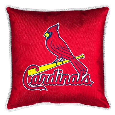 SIDELINES PILLOW St Louis Cardinals - Color Bright Red - Size 18x18