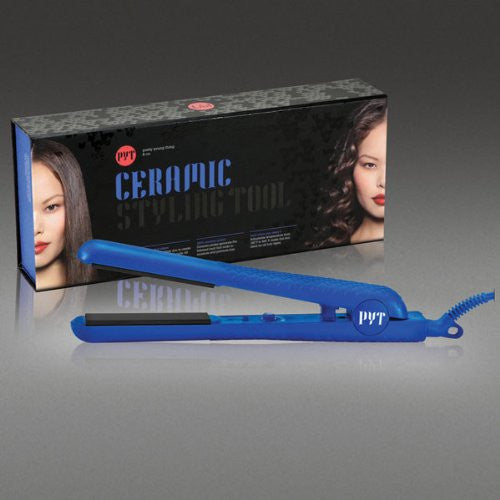1.25 inch Ceramic styler -Metallic Blue