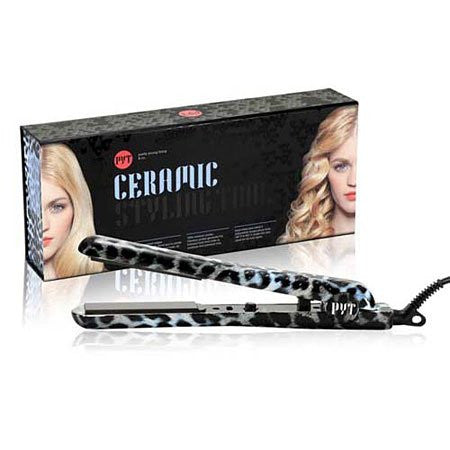 PYT Ceramic Pro Styling Tool, Snow Leopard