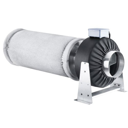 Earth Worth 6 Inch Fan & Filter Combo For Hydroponics and Grow Tents