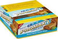 Promax Low Sugar Bar, Peanut Butter Cookie Dough, 12 Pk