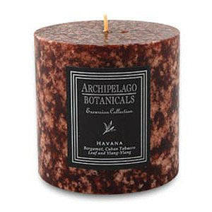 Excursion Pillar Candle - Havana 3.5 x 3.5, Size #20