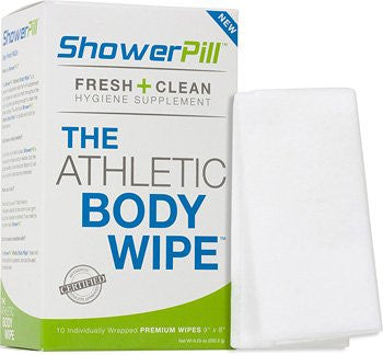 Shower Pill  Athletic Body Wipes