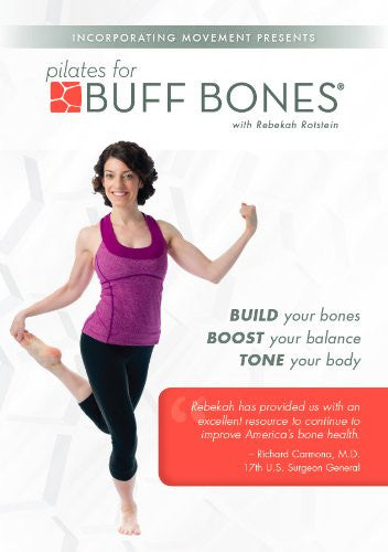 Pilates for Buff Bones with Rebekah Rotstein DVD