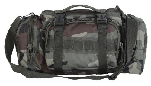 New Enlarged 3-Way Deployment Bag (Color: Woodland Camo)