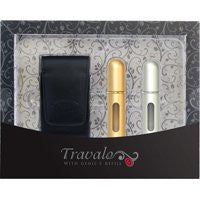 Travalo Gift Set Silver Gold