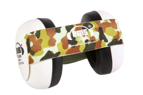 Earmuffs for Babies (Camo headband)