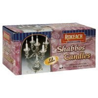 Rokeach Shabbat Candles 1.0 EA