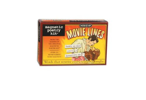 Magnetic Poetry® Mixed-Up Movie Lines Kit, Current Edition. 3154MP