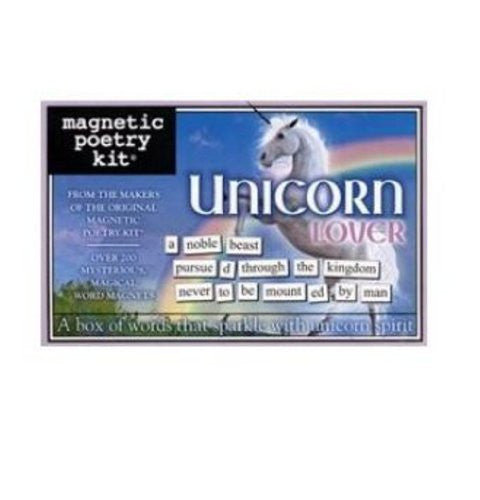 Magnetic Poetry - Unicorn Lover Edition